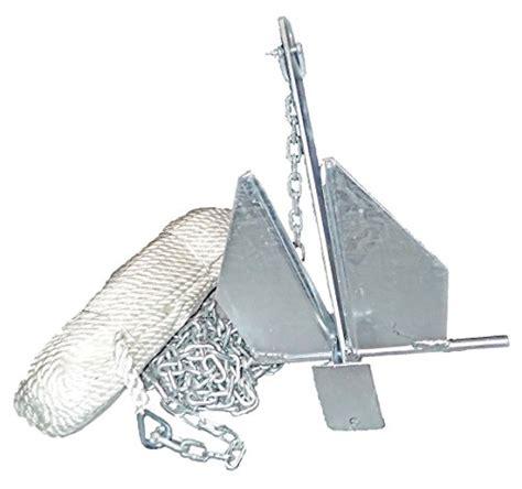 boat anchor styles norestar fluke danforth style boat anchor kit 150 rope