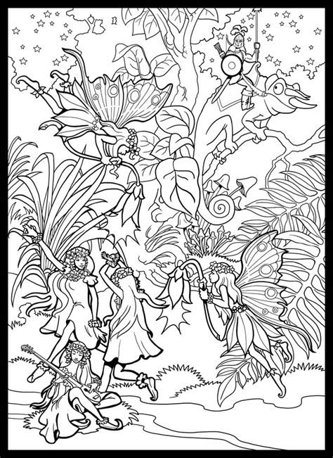 coloring posters for adults welcome to dover publications