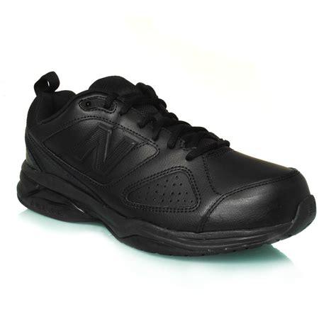 black new balance shoes new balance 624v4 2e mens cross shoes black