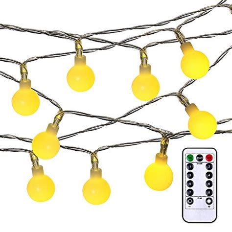 battery powered globe string lights luckled battery powered dimmable globe string lights 17 4