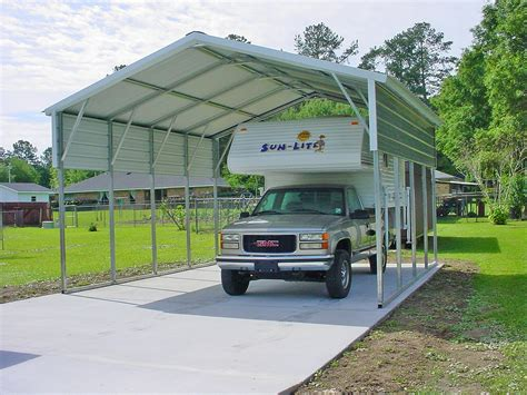 Aluminum Car Port by Carport Metal Rv Carports