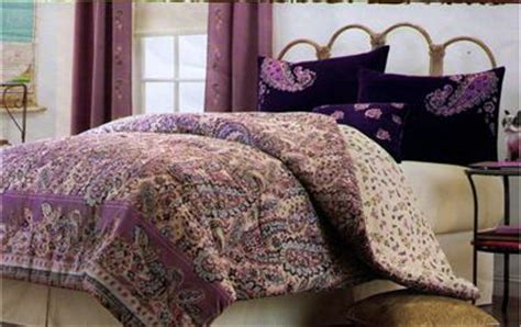 purple velvet comforter set new plum purple blue paisley velvet twin comforter set ebay