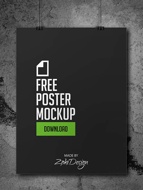 poster template psd free 60 must free psd mockup templates designrfix