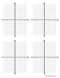 graphing coordinate plane samples templates print