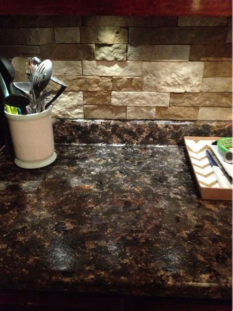 Diy Painting Countertops by Best 25 Granite Counters Ideas On Kitchen Granite Countertops Granite Countertops