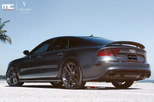 Audi Rs7 Modified Audi Rs7 On Vellano Vm17 21 Monoblock Vellano Forged