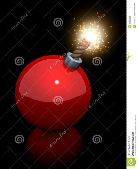 christmas tree ball bomb royalty free stock image image