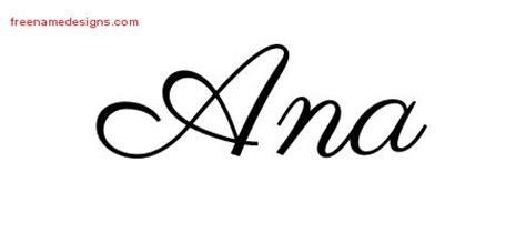 tattoo name ana classic name tattoo designs ana graphic download free