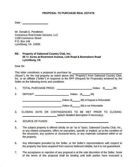 sle real estate template 9 free documents