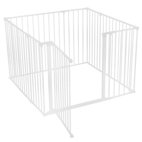 indoor puppy pen safetots puppy indoor pet pen fence cage playpen white various sizes ebay