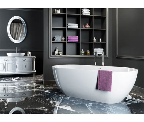 clearwater bathrooms clearwater formoso natural stone freestanding bath 1690 x 800mm n2a