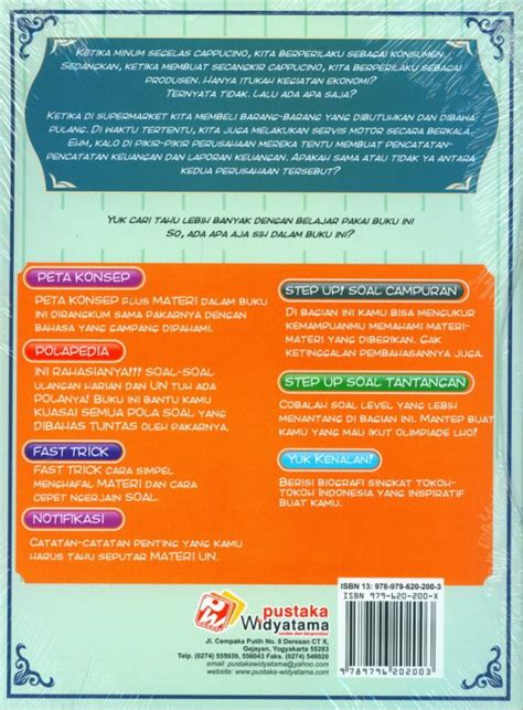 Buku Seru Step Up Kupas Tuntas Pola Soal Biologi Kimia Smp Kelas Vii bukukita step up kupas tuntas pola soal ekonomi sma