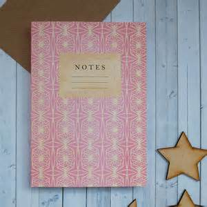 pattern of journal writing bookishly products notonthehighstreet com