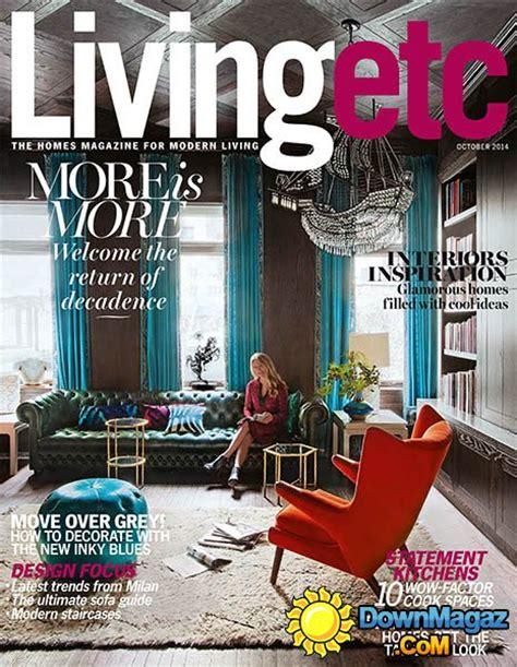 design etc magazine living etc october 2014 187 download pdf magazines