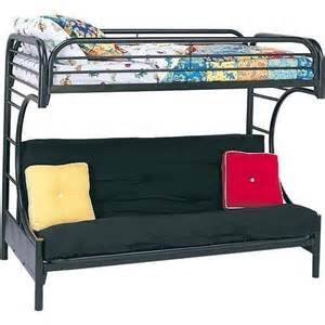 futon bunk bed frame bedroom metal