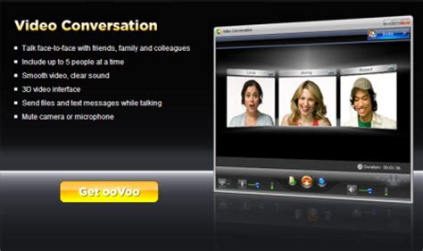 oovoo for mobile oovoo realtime free chat from mobile or pc free