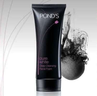 pond s pure white deep cleansing facial foam with