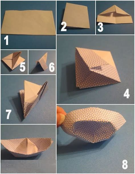 Paper Boat Steps - simple steps to make paper boat paperboat papercraft