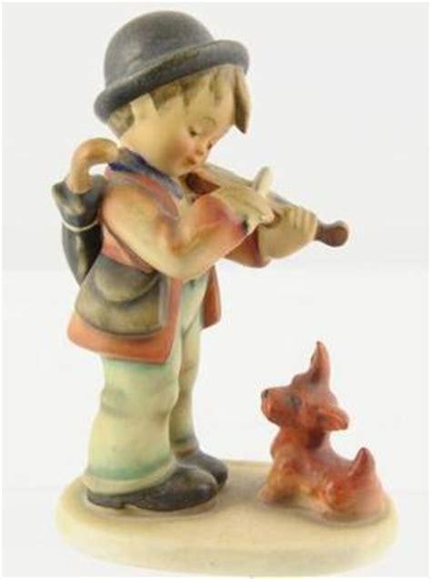 hummel dogs hummel goebel quot fiddler quot violin boy w figurine made in germany