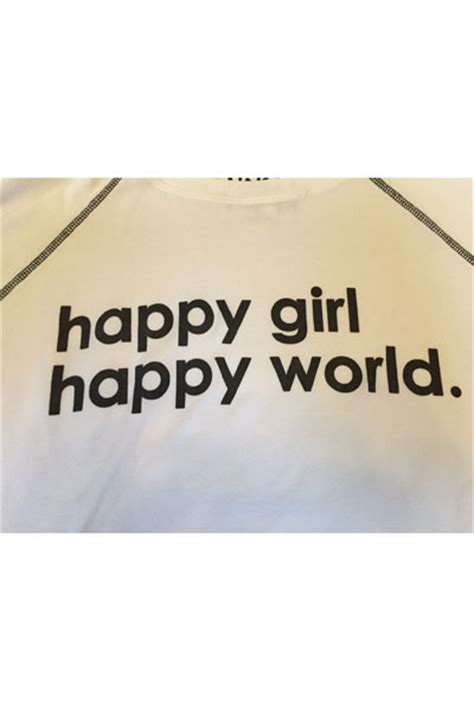 Raglan Ordinal Motivation Think Happy Be Happy peace world happy happy world oversized comfy top think