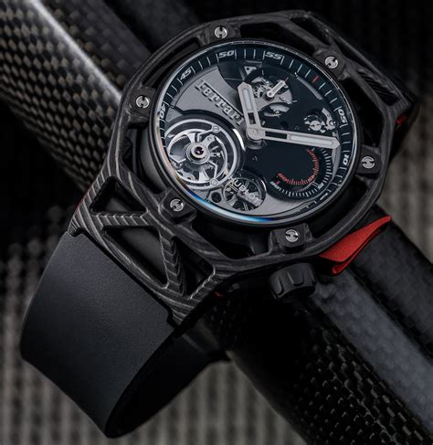 Hublot Ferrari by Hublot Techframe Ferrari Tourbillon Chronograph Watch