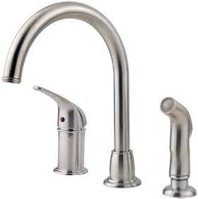 Pfister Kitchen Faucet Reviews by Review On The Pfister Fwk1680s Kitchen Faucet With Side Spray