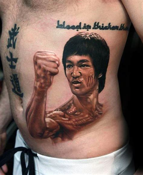 bruce lee tattoo designs 60 bruce designs for martial arts ideas
