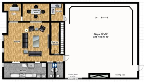 stage floor plan sound academy floor plan sound academy toronto on