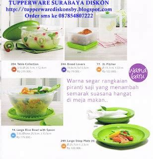 Blossom Rice Server With Ladle tupperware surabaya diskon 087854807222 katalog