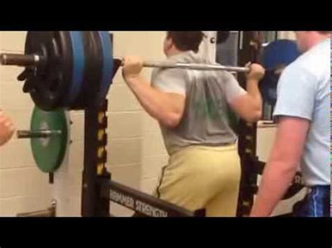 quenton nelson bench press quenton nelson youtube
