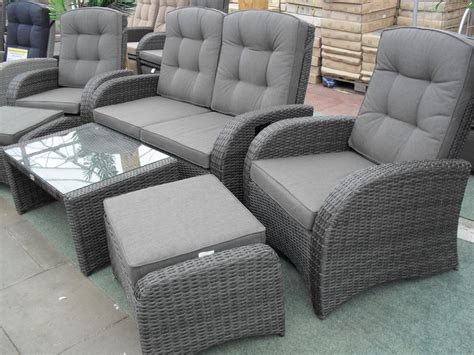 garden furniture set reclining chairs reclining rattan furniture premium quality rattan sets
