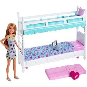 barbie sisters bunk bed barbie 174 sisters bunk beds stacie 174 doll dgx45 barbie