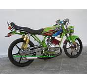 Modifikasi Motor Rx King Extreme Airbrush  Modif