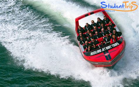 jet boat nz auckland jet boat tour student trips new zealand