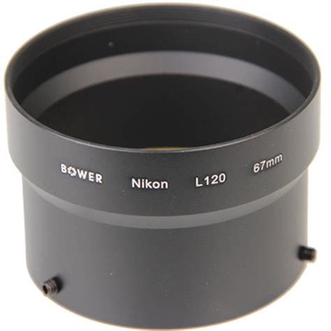 Lens Adapter Nikon 67mm bower 67mm adapter for nikon l120 anl12067 b h photo