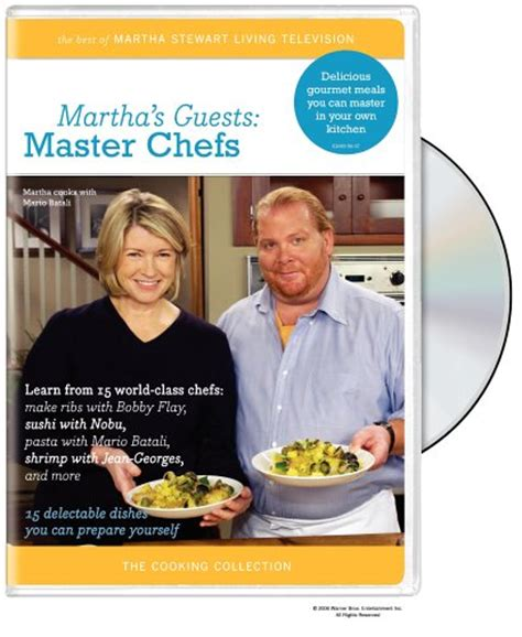 Martha Stewarts Guests by Buy Special Dvd The Martha Stewart Cooking Collection