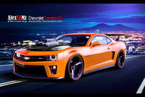 Cemara Tunik by Tuning Chevrolet Camaro Zl1 99