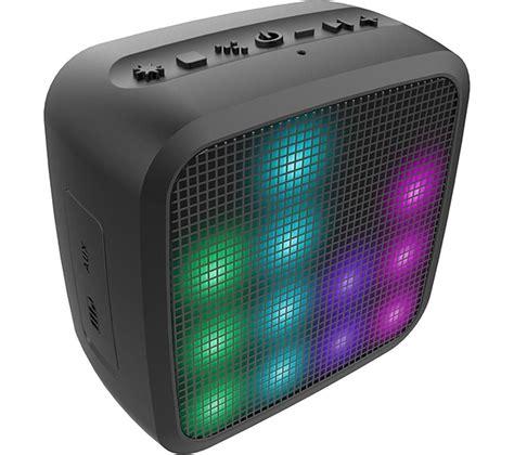 Speaker Mini Portable jam trance mini led portable wireless speaker black