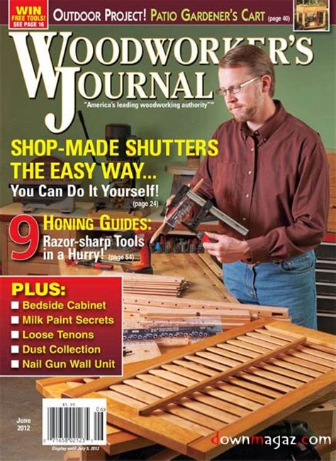 Woodworker S Journal Vol36 3 June 2012 187 Pdf