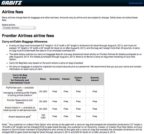 carry on fee the new frontier of airline fees overhead bin space and