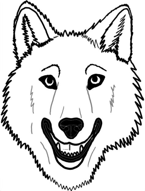 Simple Wolfis M stunning coyote mask template pictures inspiration