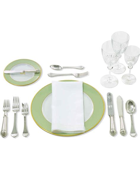 fancy place setting security fancy place setting the table 101 martha stewart