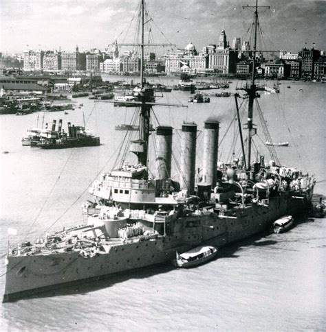 Shanghai Navy imperial cruisers