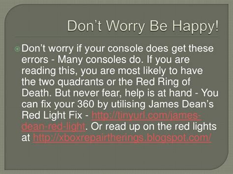 what does the xbox ring of light mean