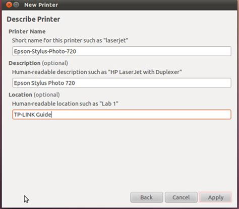 setup ubuntu print server how to install print server manually on ubuntu os tp link
