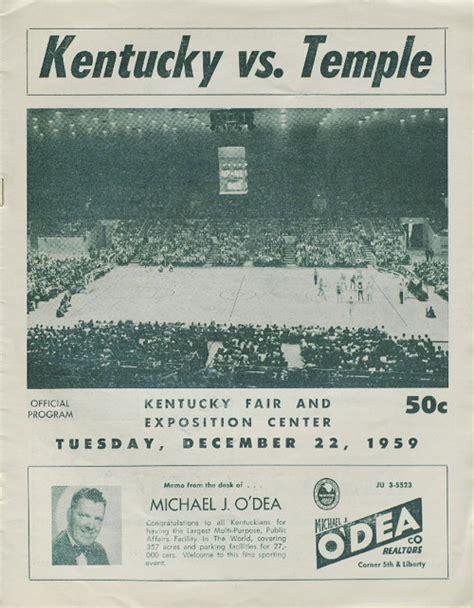 Va Hospital Detox Program Temple by Kentucky Vs Temple December 22 1959