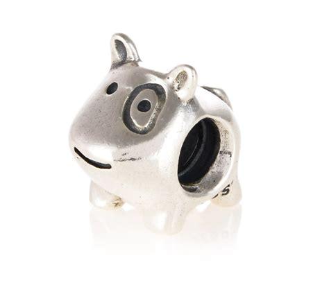 pandora puppy charm pandora silver charm 790258 greed jewellery