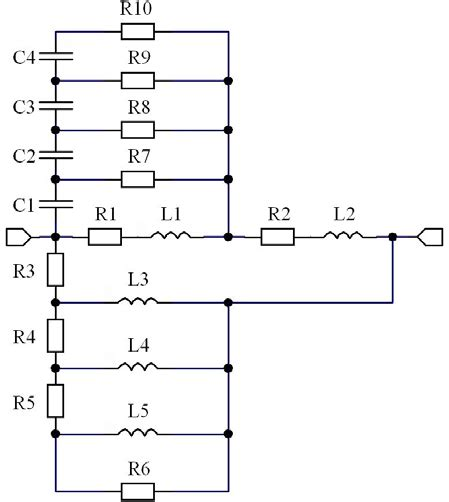 resistor equivalent circuit resistor model equivalent circuit including both dielectric loss and