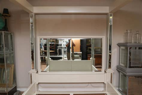mirrored bed frame modern king size canopy mirrored bed for sale at 1stdibs