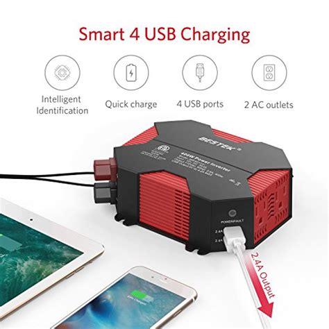 Ac Portable Digital Sanyo 330 Watt bestek 400w power inverter dc 12v to ac 110v car adapter